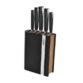 BergHOFF CooknCo Duet Stainless Steel Knife Block Set (6-piece Set)