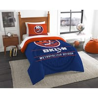 The Northwest Company NHL New York Islanders Draft Twin 2-piece Comforter Set