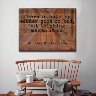 Ready2HangArt William Shakespeare - Thoughts by Olivia Rose Canvas Art