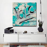 Ready2HangArt YOLO by Olivia Rose Canvas Art