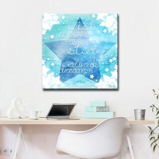 Ready2HangArt Wish Star by Olivia Rose Canvas Art