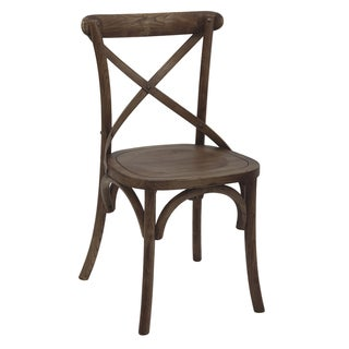 Aurelle Home Gaston Antique Vintage Cafe Chair (Set of 2)