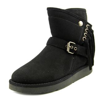 UGG Australia Women's Karisa Black Regular Suede Boots