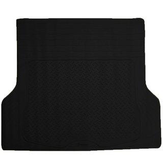Zone Tech Black Rubber Customizable Cargo Mat