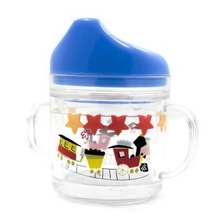 Gaia Group USA Kids' World of Mary Blair Trains Plastic Sippy Cup