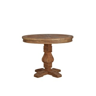 Aurelle Home Salvaged Round Wood Dining Table