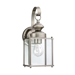Sea Gull  Jamestowne 1 Light Antique Brushed Nickel Outdoor Fixture