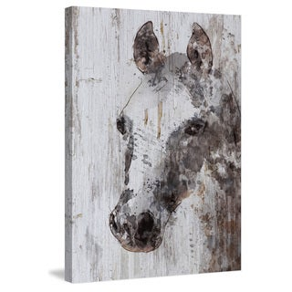 Marmont Hill - 'Jack Horse' by Irena Orlov Painting Print on Wrapped Canvas