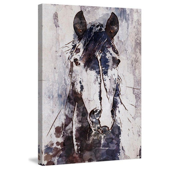 Shop Marmont Hill -  Mustang Horse  by Irena Orlov Painting Print on ... 084133278