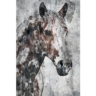 Marmont Hill - 'Ranch Horse' by Irena Orlov Painting Print on Wrapped Canvas
