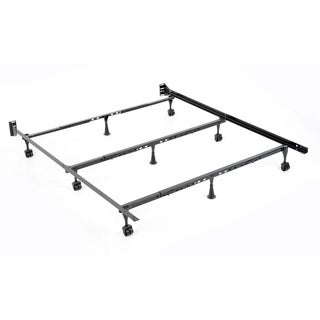Solutions Compact Universal Folding Bed Frame with Tool-Free Assembly