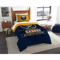 The Northwest Company NHL Buffalo Sabres Draft Twin 2-piece Comforter Set