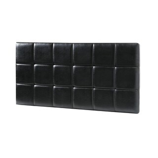 Lyke Home Panel Faux Leather Twin Headboard