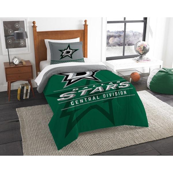 The Northwest Company NHL Dallas Stars Draft Twin 2-piece Comforter Set