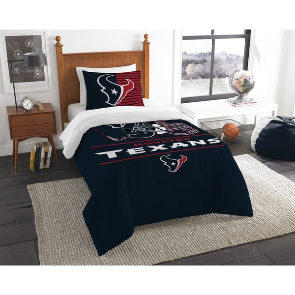 The Northwest Company NFL Houston Texans Draft Twin 2-piece Comforter Set