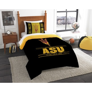 COL 862 Arizona State Modern Take 2-piece Twin Comforter Set