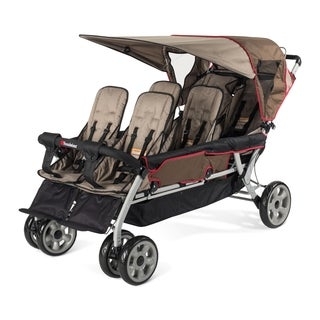 Foundations LX6 6-Passenger Stroller with Oversize Seating