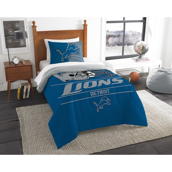 The Northwest Company NFL Detroit Lions Draft Twin 2-piece Comforter Set