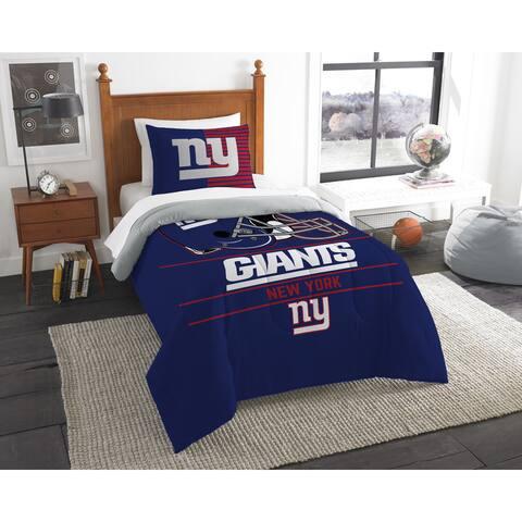 The Northwest Company NFL New York Giants Draft Twin 2-piece Comforter Set