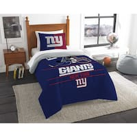 The Northwest Company NFL New York Giants Draft Twin 2-piece Comforter Set
