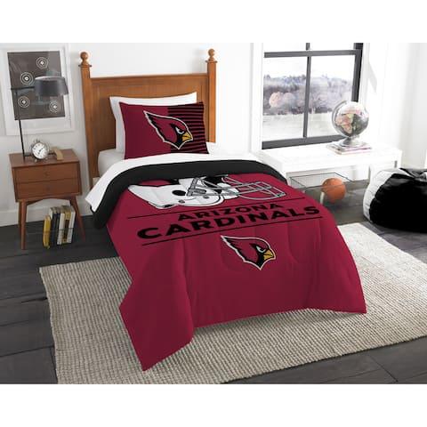The Northwest Company NFL Arizona Cardinals Draft Twin 2-piece Comforter Set