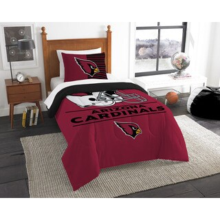 The Northwest Company NFL Arizona Cardinals Draft Twin 2-piece Comforter Set