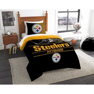 The Northwest Company NFL Pittsburgh Steelers Draft Twin 2-piece Comforter Set
