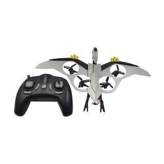 Silver-tone Plastic Dinosaur Drone