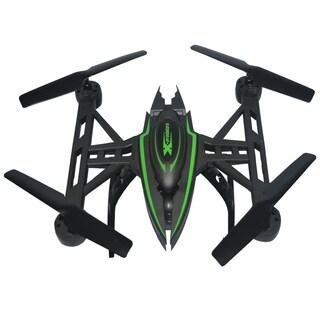 Black Plastic 12-inch Quad Copter Drone