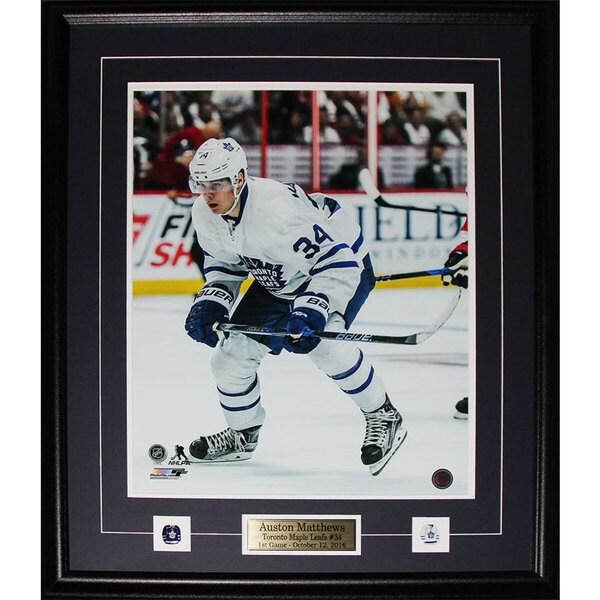 100% authentic 34ef5 0076e Auston Matthews Toronto Maple Leafs 16x20 frame