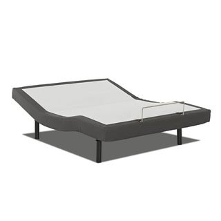 Purelife Queen-size Adjustable Bed Base with Full Range Head and Foot Lift, Massage, and Wireless Remote