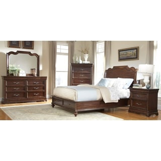 Senator Sleigh 5-piece Bedroom Set with Storage by Greyson Living