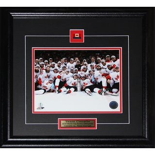 2016 Team Canada World Cup of Hockey Champions 8 x 10 Framed Photograph