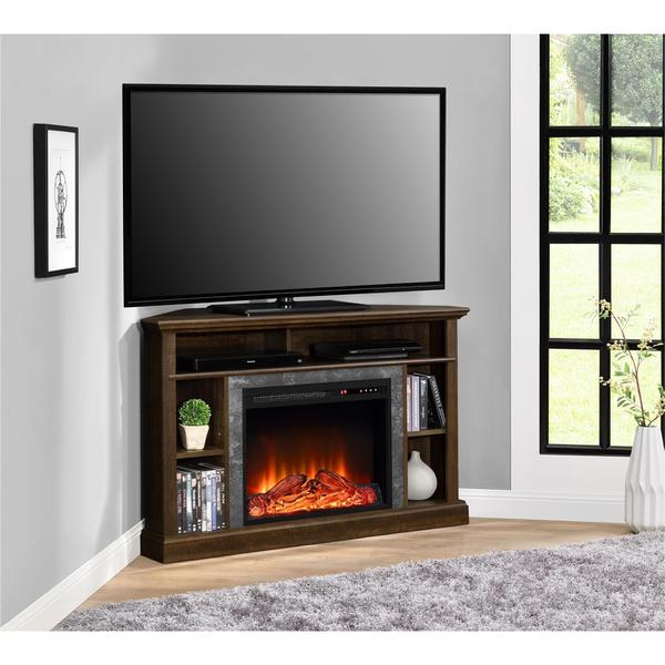 Shop Ameriwood Home Overland Electric Corner Fireplace For