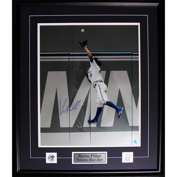 Toronto Blue Jays Kevin Pillar Multicolored Framed Photograph with Plaque