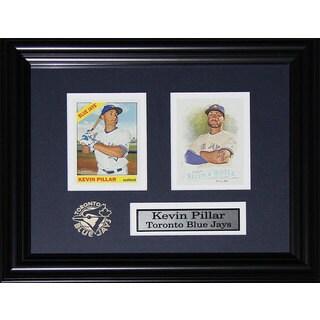 'Kevin Pillar Toronto Blue Jays' 2 Card Frame