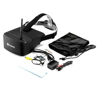 EACHINE EV800 5 Inches 800x480 FPV Goggles Video Glasses with 5.8G 40CH Raceband, Auto-searching, and Built in Battery