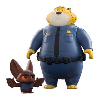 Zootopia Clawhauser and Bat Eyewitness Character Pack