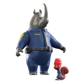 Zootopia McHorn and Safety Squirrel Character Pack