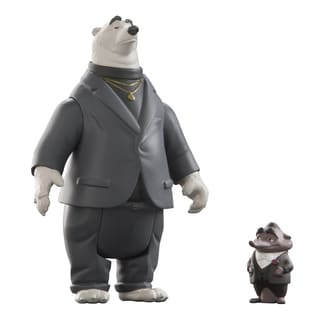 TOMY Zootopia Koslov and Mr. Big Character Pack