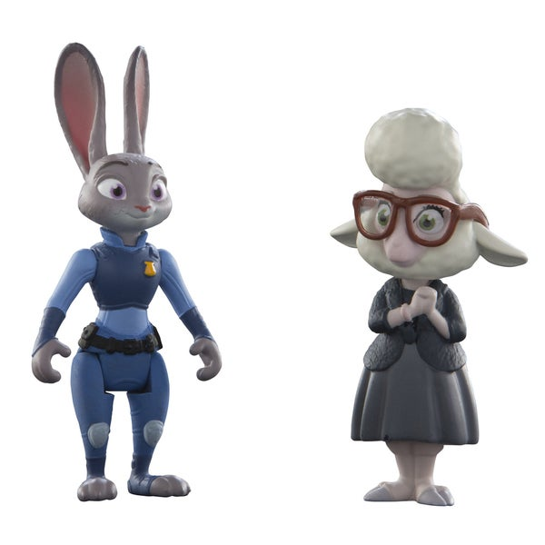TOMY Zootopia Judy and Bellwether Character Pack