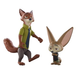 TOMY Zootopia Nick and Finnick Character Pack