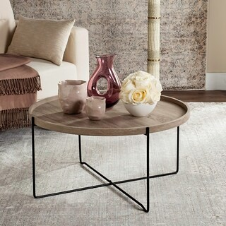 "Safavieh Auden Wood Accent Table - 29"" x 29"" x 15"""