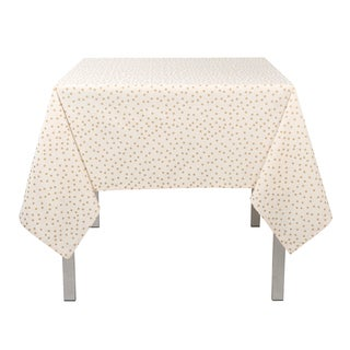 Gala Gold 100% Cotton Tablecloth by Now Designs