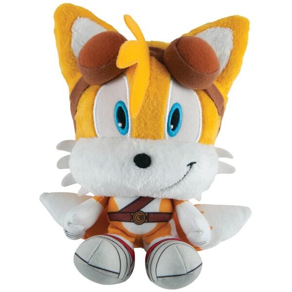 TOMY Sonic Boom Head Plush Tails