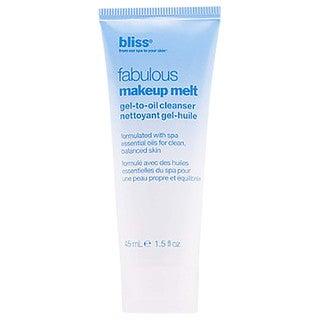 Bliss Fabulous 1.5-ounce Makeup Melt Gel To Oil Cleanser