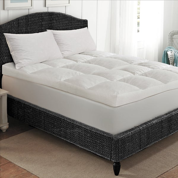 Hotel Grand Overfilled Cotton Baffled Box Featherbed