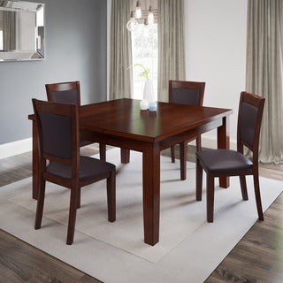 CorLiving 5-Piece Extendable Dining Set