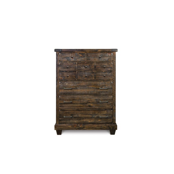 Oliver & James Prou 5-drawer Wood Chest