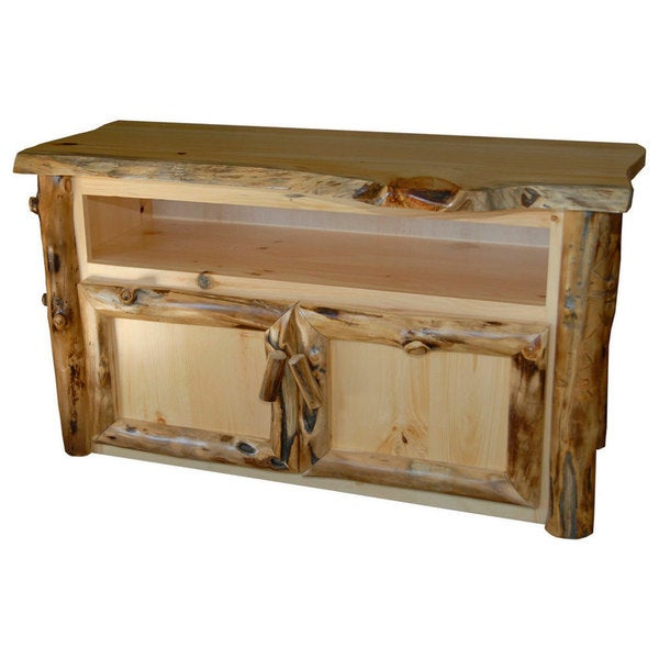 Product on Aspen Log Entertainment Centers